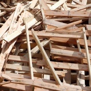 Destinação de resíduos de madeira